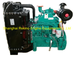 DCEC Cummins 4BTA3.9-G2 G drive diesel engine for generator genset 50KW 1500RPM (60KW 1800RPM)